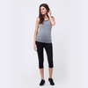 Ripe Clarity Nursing Racer Tank - Light Grey