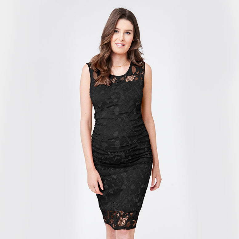 Ripe Eden Lace Dress - Black