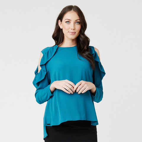 Ripe Frill Cut-Out Top