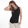 MEV Goddess Drape Sleeveless Top