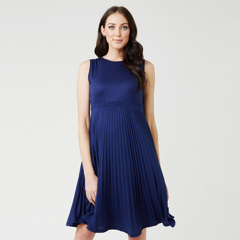 Ripe Knife Pleat Dress