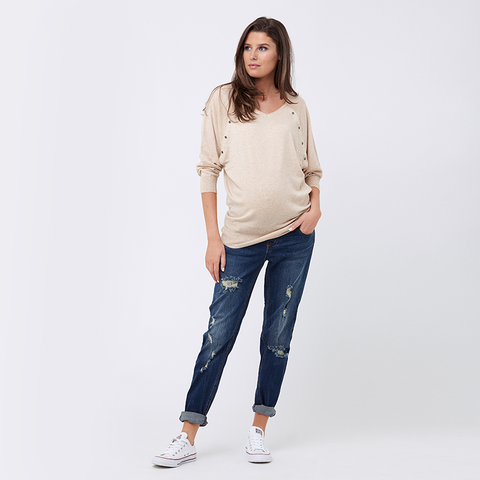 Ripe Batwing Nursing Sweater