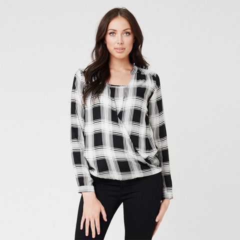 Ripe Mayfair Drapey Blouse