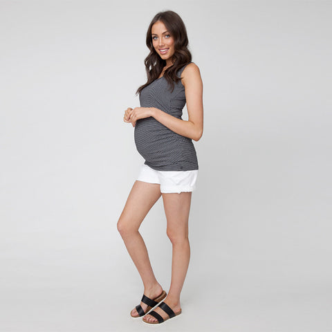 Ripe Mini Stripe Tank Black