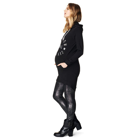 Supermom Metallic Moto Legging - Sample