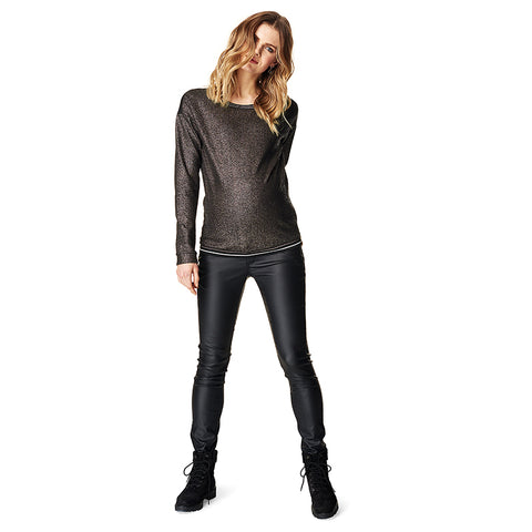 Supermom Skinny Coated Jeans - Sample
