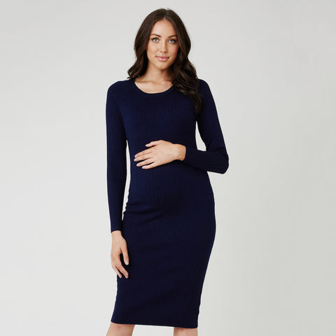 Ripe Rib Body Con Dress