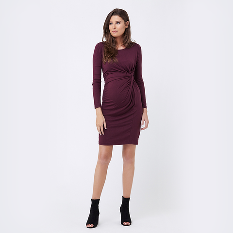 Ripe Side Knot Jersey Dress
