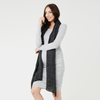 Ripe Textured Knit Cocoon Dress