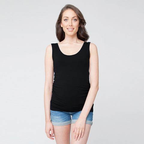 Ripe Tube Tank - Black