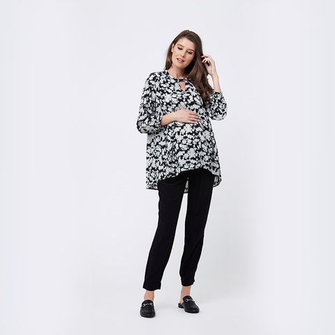 Ripe Verona High Low Nursing Blouse