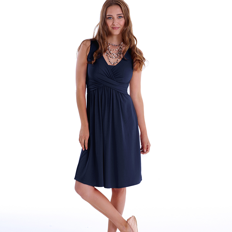MEV Wrap Sleeveless Dress