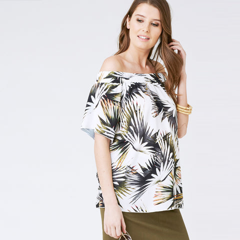 Ripe Zanzibar Off-Shoulder Top