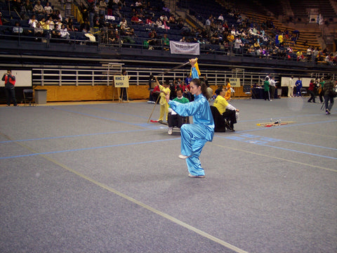 Alicia McGrann Tai Chi International Grand Champion