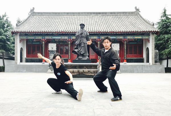 Alicia McGrann and Chen Ziqiang Tai Chi Instructor Las Vegas Studio