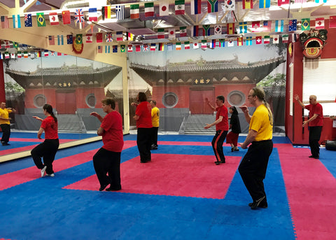 Beginner Chen tai chi classes in Las Vegas studio with Alicia McGrann