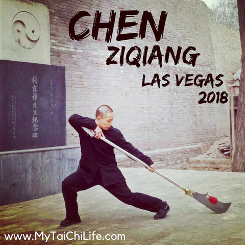 Chen Ziqiang in Las Vegas for Tai Chi Workshop 2018