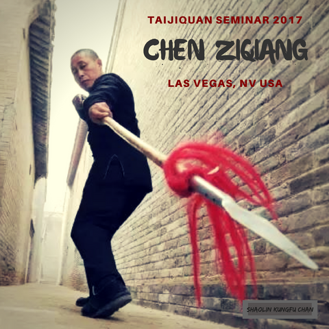 Chen Ziqiang Taijiquan Seminar, Spear Set, Laojia Yi Lu, Basics - 2017 at Shaolin Kungfu Chan with Alicia McGrann