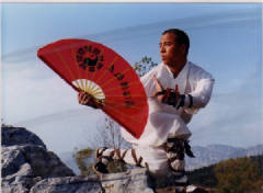 Shi Xing Wei of Shaolin Kungfu Chan teaching kung fu and tai chi classes in Las Vegas
