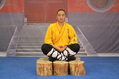 Shifu YanJie meditate to relieve stress and find your focus and center to ground you