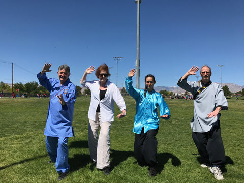 Taijiquan demonstration for World Tai Chi Day in Las Vegas 2017