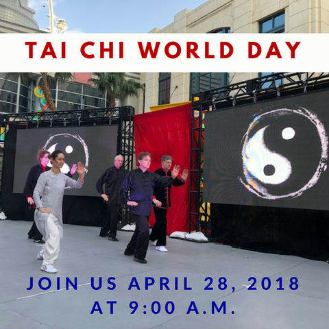 Tai Chi World Day 2018 in Las Vegas, Free Class