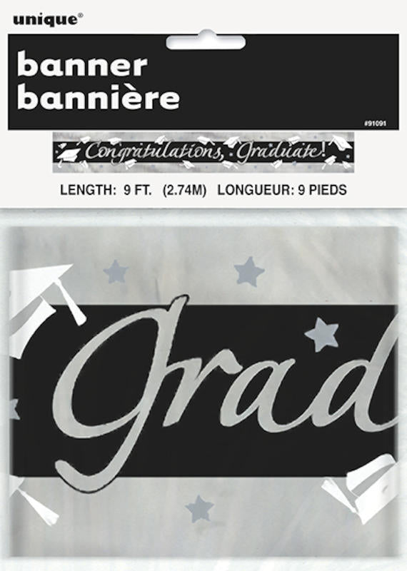 congratulations graduate banner partybest supply store