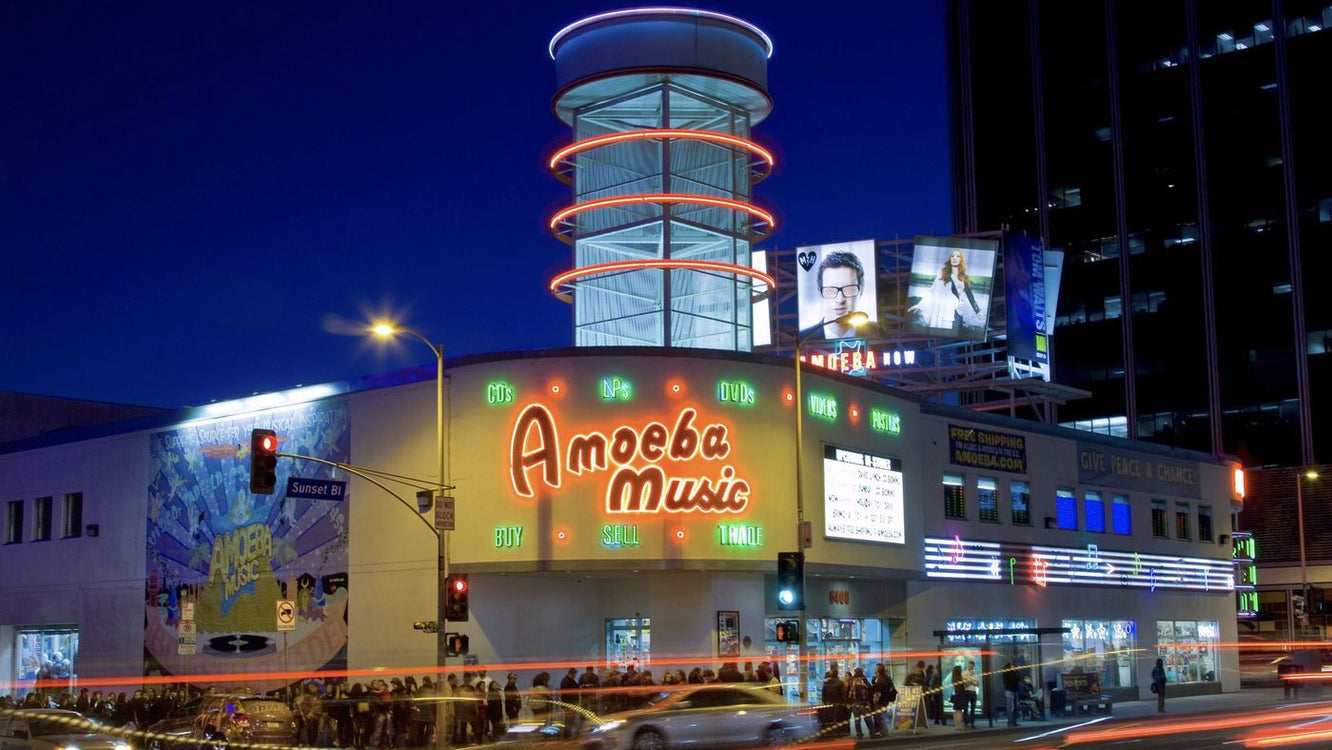 Top 3 Record Stores in Los Angeles!!!