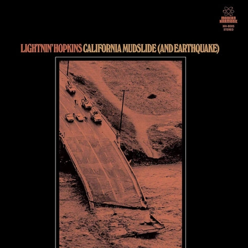 Lightnin' Hopkins - California Mudslide (And Earthquake) [LP] (Root Beer Colored Vinyl) - Urban Vinyl | Records, Headphones, and more.