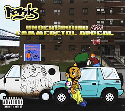 Fokis - Underground With Commercial Appeal (CD) - Urban Vinyl | Records, Headphones, and more.