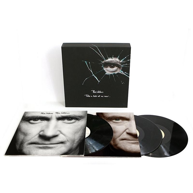 Phil Collins - Take A Look At Me Now Collector's Edition [3LP] (180 Gram, 2015 Remaster) - Urban Vinyl | Records, Headphones, and more.