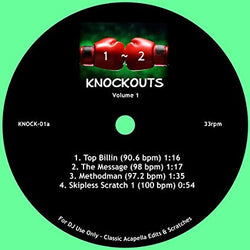 DJ Sausage Fingaz - 1-2 Knockouts Vol. (7