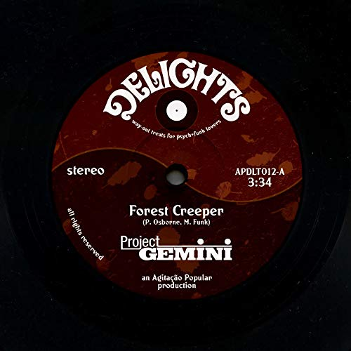 Project Gemini - Forest Creeper / Monsters At Gardens End [7''] (import)