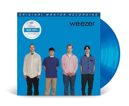 Weezer - Weezer (The Blue Album) [LP] (SOLID BLUE 180 Gram Audiophile Remastered Vinyl, limited/numbered) - Urban Vinyl | Records, Headphones, and more.