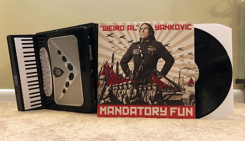 Weird Al Yankovic - Mandatory Fun [LP] (Vinyl) - Urban Vinyl | Records, Headphones, and more.