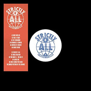 Teknical Development & Figub Brazlevic - Strictly 4 All Instrumentals (LP)
