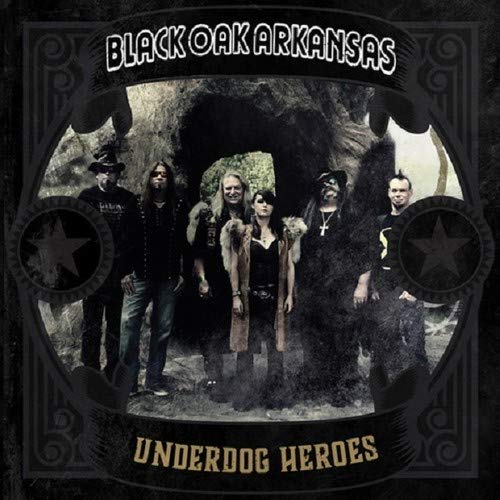 Black Oak Arkansas - Underdog Heroes [LP] (Gold Vinyl, limited to 300) - Urban Vinyl | Records, Headphones, and more.