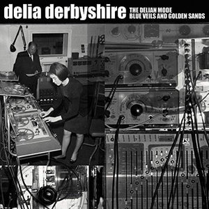 Delia Derbyshire - The Delian Mode/Blue Veils And Golden Sands [7''] (Red Vinyl, gatefold, pull-out poster, limited to 500) - Urban Vinyl Records