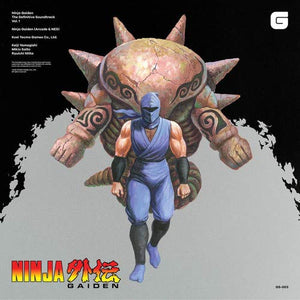 Keiji Yamagashi/Ryuichi Nitta - Ninja Gaiden (Soundtrack) Volume 1 [2LP] (first time on vinyl)