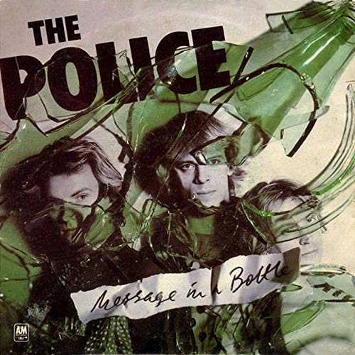 The Police - Message In A Bottle [2x7''] 1 Green & 1 Blue Vinyl - Urban Vinyl Records