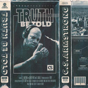 C.S. Armstrong - Truth Be Told (Blue Vinyl 2XLP)
