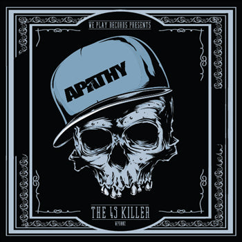 Apathy - We Play! Records Presents Apathy [7''] (Blue Vinyl, limited to 500)