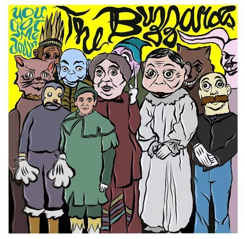 Buzzards, The - You Got Me Down' b/w Ain't Gonna and TAQN! [7''] (Red/Clear/Blue/Green Vinyl, limited to 500)