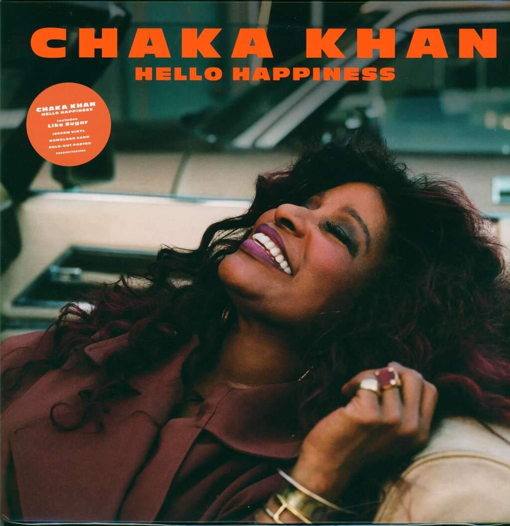 Chaka Khan - Hello Happiness [LP] (black vinyl, 24x36'' poster) - Urban Vinyl | Records, Headphones, and more.