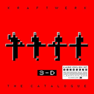 Kraftwerk - 3-D: The Catalogue [9LP Box] (180 Gram, download)