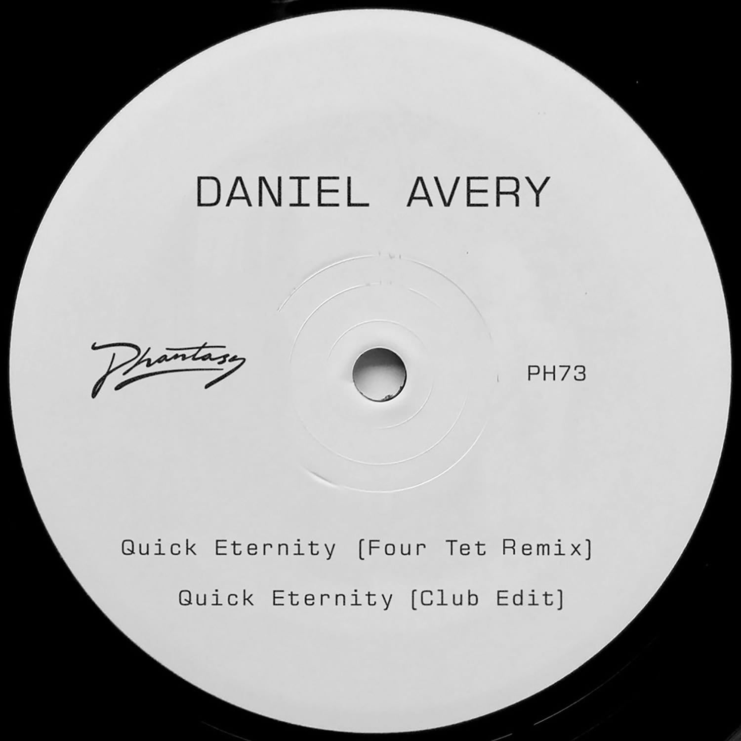 Daniel Avery - Quick Eternity [12''] (Four Tet Remix, limited to 400) (Vinyl) - Urban Vinyl | Records, Headphones, and more.