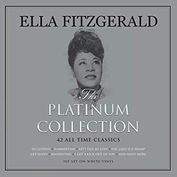 Ella Fitzgerald - Platinum Collection [3LP] (White Vinyl, import) - Urban Vinyl | Records, Headphones, and more.
