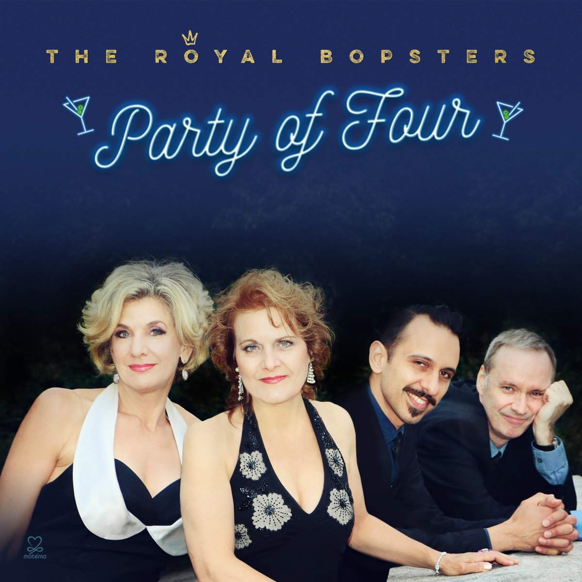 Royal Bopsters, The - Party Of Four [CD]