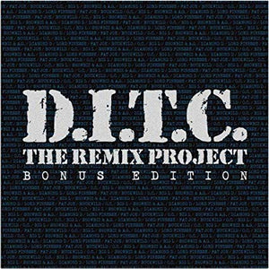"D.I.T.C. - The Remix Project: Bonus Edition (10"" Blue / Silver Vinyl)"