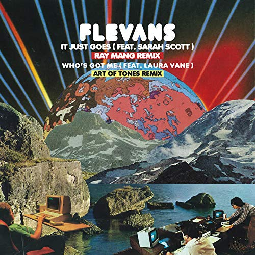 Flevans - It Just Goes (Ray Mang Remix) [12''] - Urban Vinyl Records